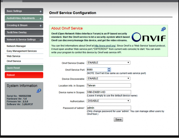 Onvif Software